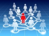 9517461-schematic-view-of-a-social-networking-members-on-blue